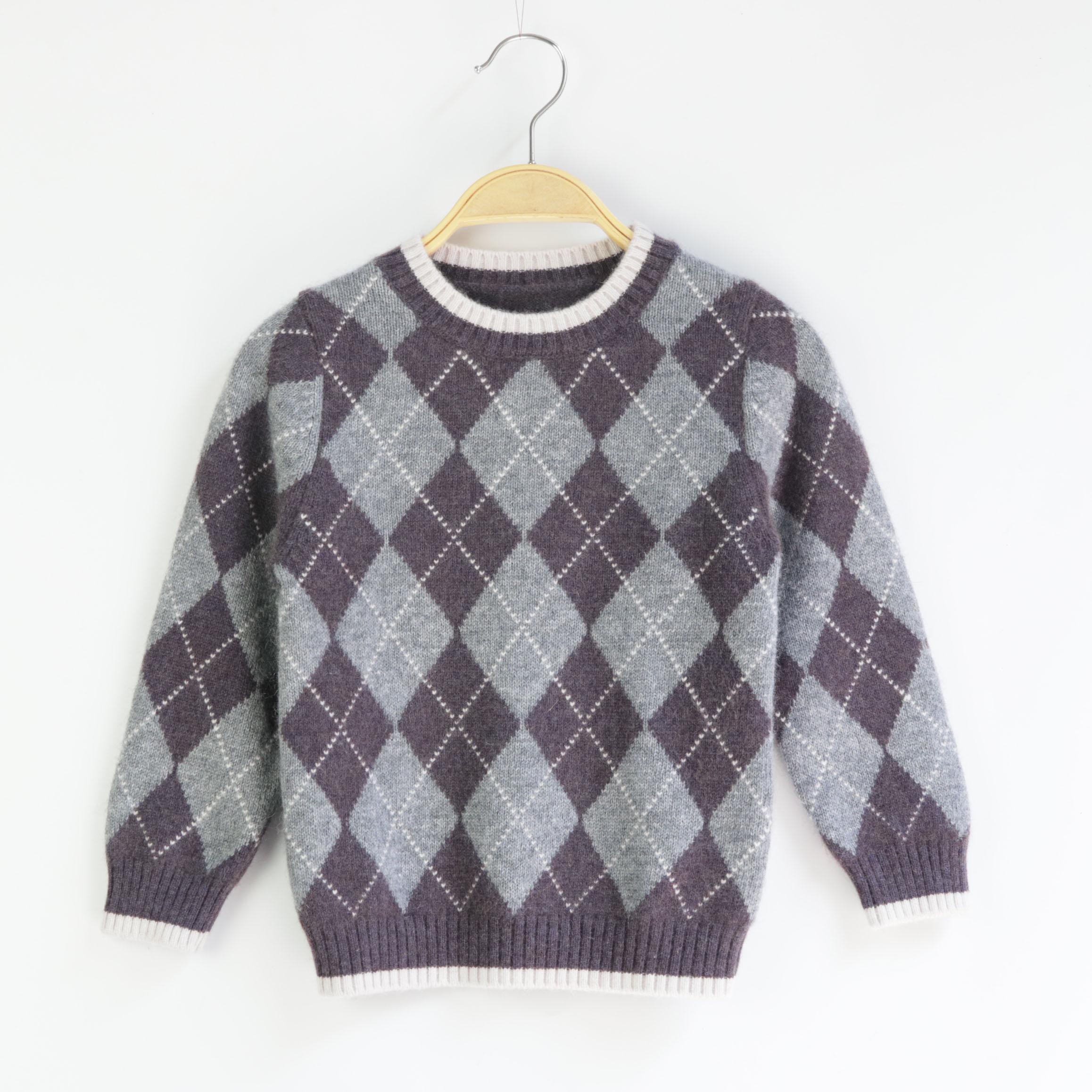 男童毛衣套头加厚秋冬款中大童潮儿童羊绒衫男童小童半高领羊毛衫