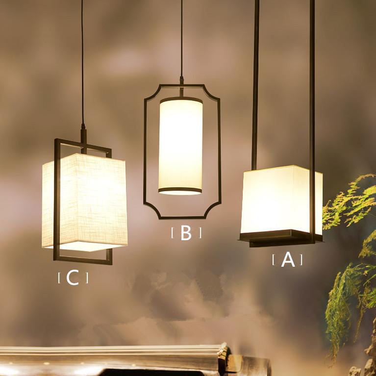 中式铁艺小吊灯
