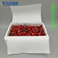 A variety of size specifications absorbent paper strawberry blueberry grape big cherry box special fresh-keeping paper fruit and vegetable lining paper pad paper