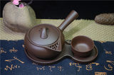 Health soup kung fu soup pot Yixing original mineral genuine purple sand pot teapot side put the pot across the pot long pot hotel