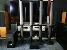 先锋 mcs838等系列 音柱 低音炮 中置音箱 环绕音箱家庭影院音箱