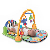 Fisher Seiko baby exerciser Baby pedal piano exercise frame W2621 Infant toy 0-1