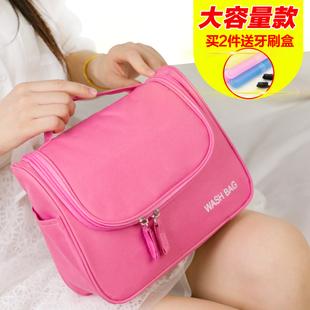 大容量防水便携手提少女心化妆包专柜赠品洗漱包韩国化妆品收纳包