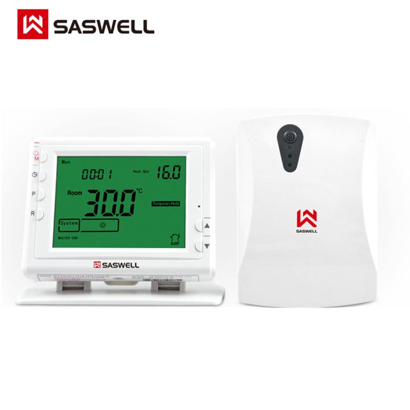 精品森威尔7RF壁挂炉无线温控器手机app智能wifi室温控温开关