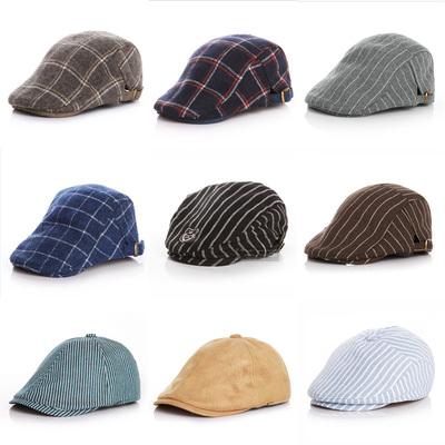 春秋冬季男女宝宝婴儿贝雷帽子儿童鸭舌帽帅气潮遮阳帽造型礼帽