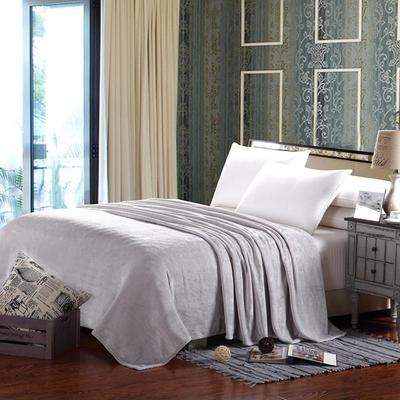 纯色毛毯床单珊瑚绒