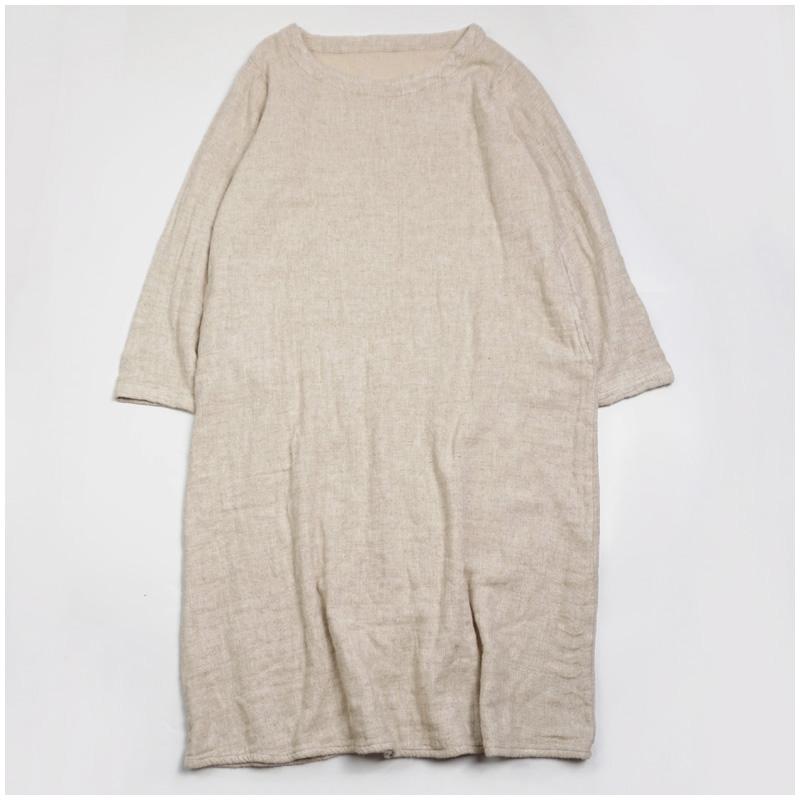 日系厚连衣裙