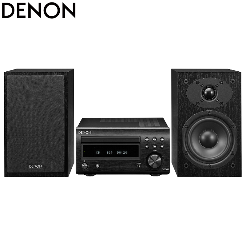Denon/天龙 RCD-M41桌面音箱台式CD组合音响HIFI家庭影院蓝牙