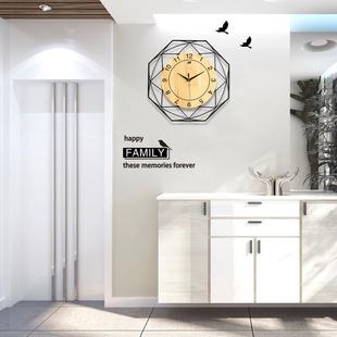北欧挂钟客厅家用现代简约钟表创意时尚个性大气装饰钟表艺术时钟