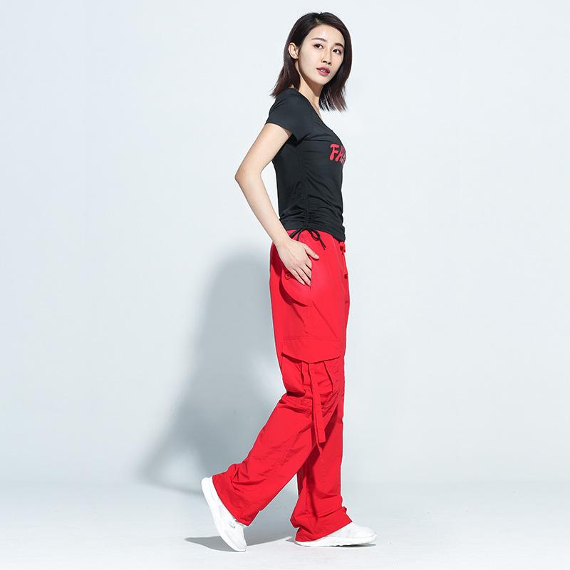 杨丽萍原创广场舞服装新款运动女成人舞衣夏季短袖鬼步舞长裤套装