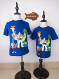 Disney T-shirt Toy Story 4 Blue Kids T-shirt Movie simultaneous release