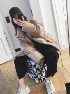 钱夫人CHINSTUDIO 原宿宽松棉衣女短款学生ulzzang面包服棉服外套