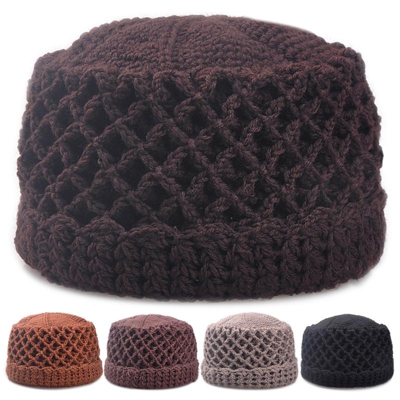手工针织毛线帽