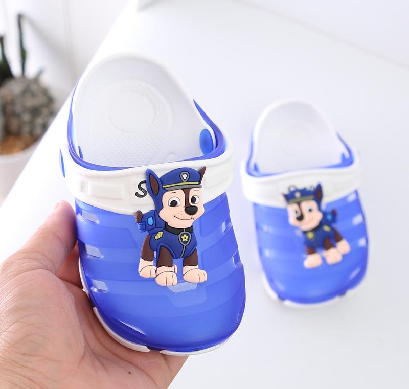 夏季女宝宝男0学步1胶凉鞋塑料女宝2岁3公主4小女孩5儿童防滑软底
