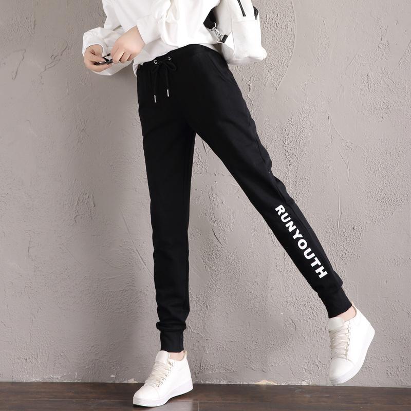 薄韩版长裤