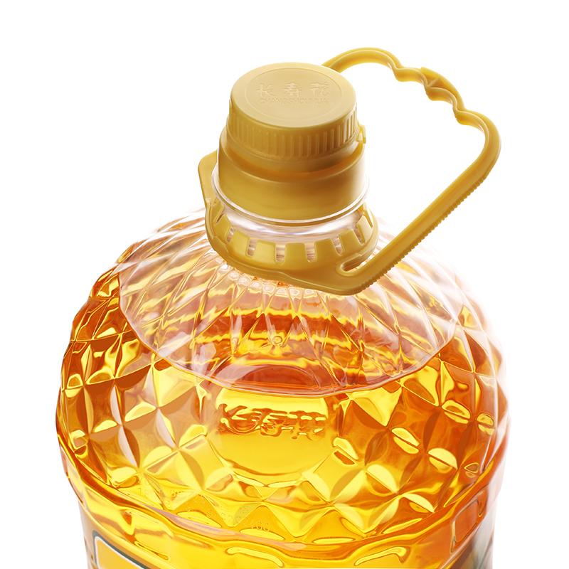 长寿花玉米油5L*1桶非转基因物理压榨一级健康食用油清香植物油