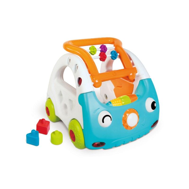 美国infantino婴蒂诺声光学步车儿童宝宝健身架早教玩具手推车