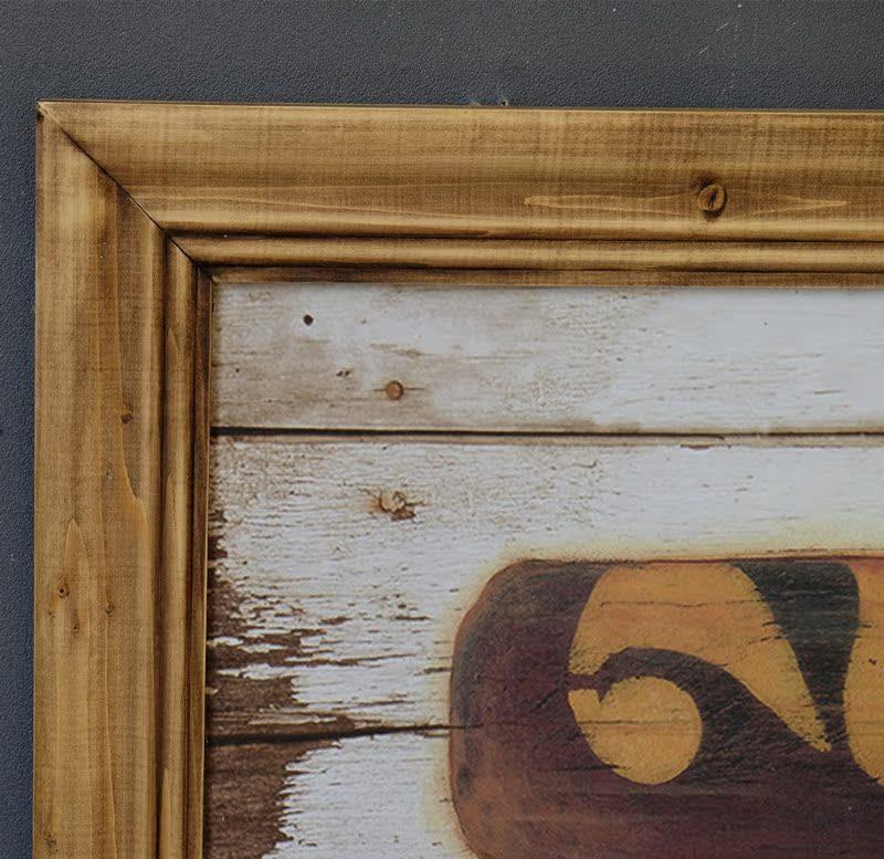 美式乡村复古墙饰 船桨造型装饰画 美式实木挂画 咖啡厅酒吧壁饰