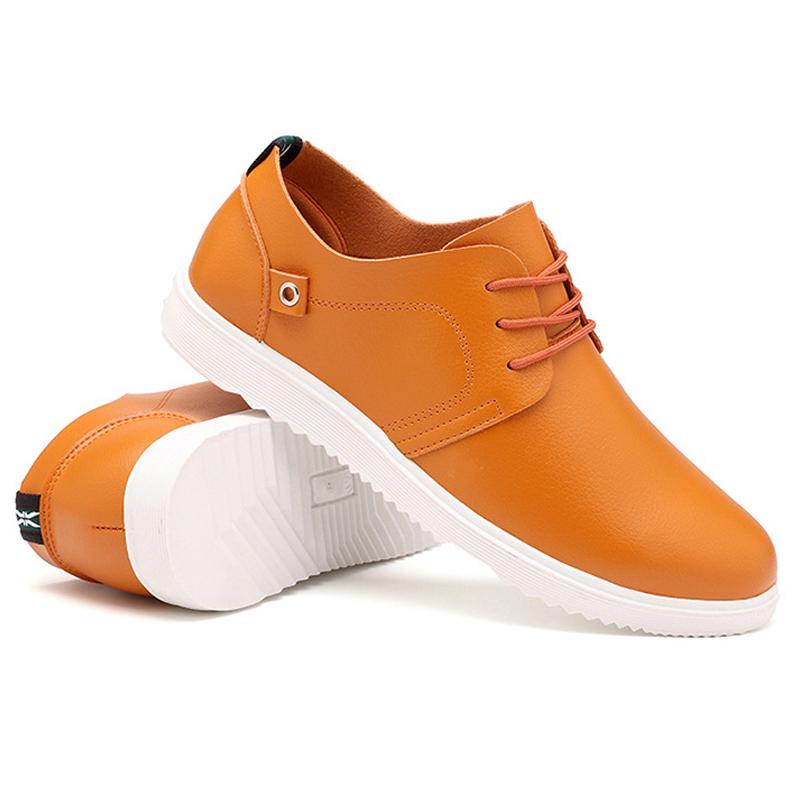 男鞋子系带软底