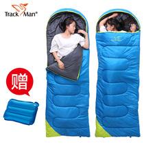 羽绒睡袋大人户外单人加厚保暖鸭绒室内双人野外便携式秋冬季露营