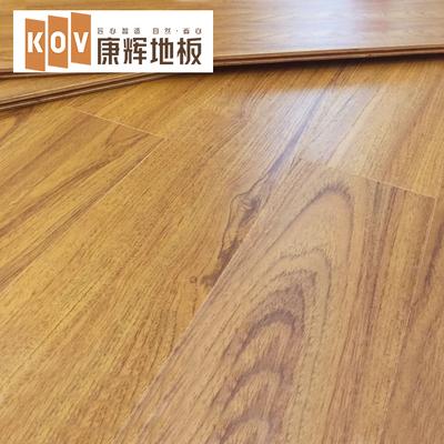 康辉地暖地热木地板 橡木柚木多层实木复合地板厂家直销 全屋定制