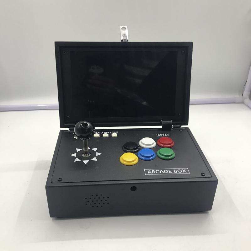 潘多拉盒便携移动迷你手提家用街机盒游戏机10寸屏月光宝盒带屏幕