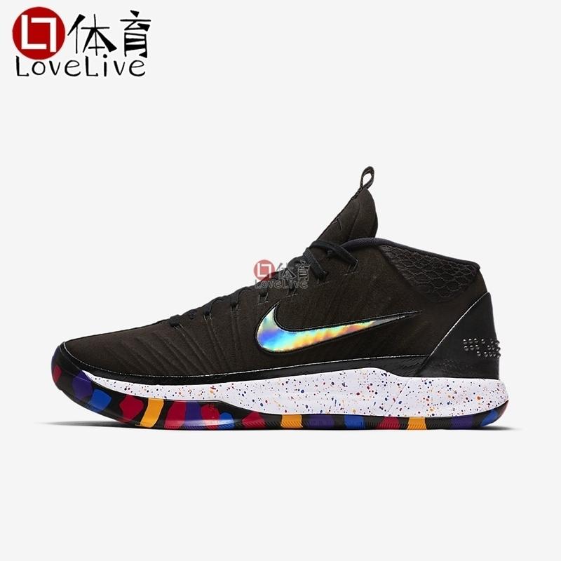 Nike Kobe AD 科比12 黑彩虹 疯狂三月 AJ6922-001 篮球鞋