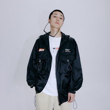 FLAM official online store Hip Hop Chao Brand National Chao FYP paper sunscreen sucker pocket retro jacket man