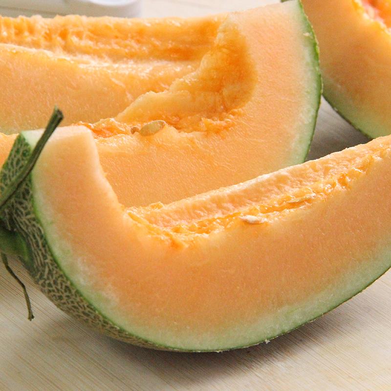 很甜 新疆西州蜜哈密瓜 1颗 17号品种 2.8斤+ 新鲜水果