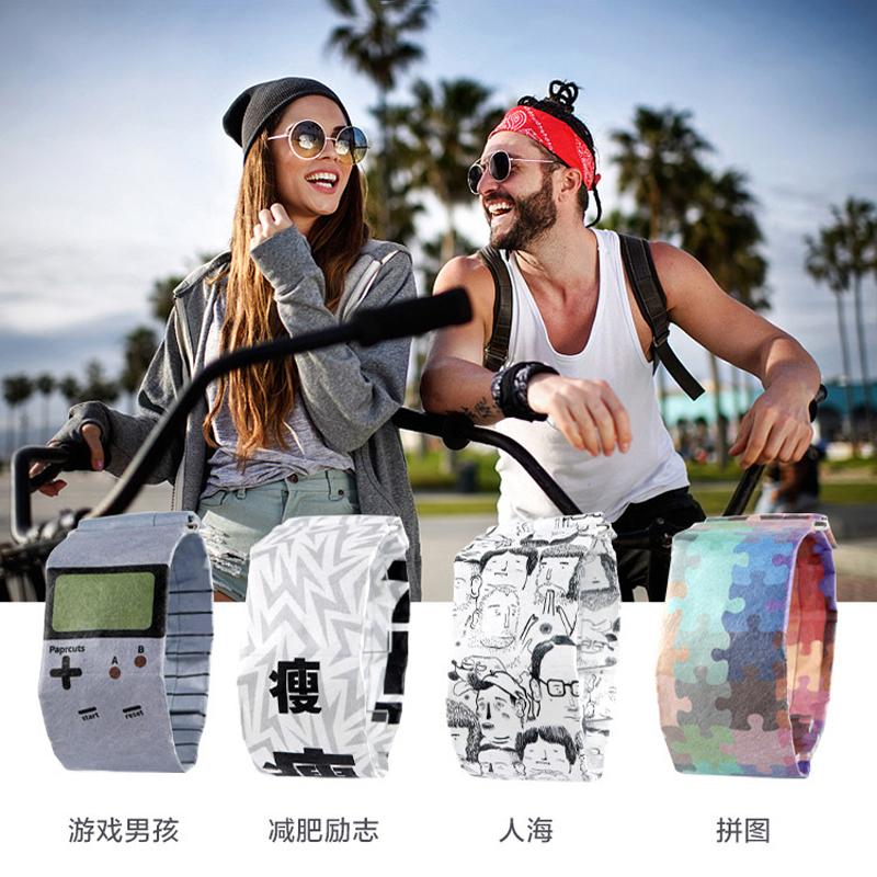NEWSPAPR 新型纸手表 防水智能纸手表新潮简约创意科技男女表礼物