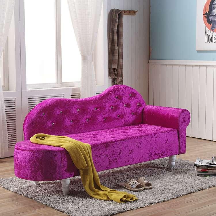 欧式贵妃椅 懒人沙发 卧室小沙发 美人榻 店铺小沙发 躺椅 定制