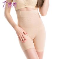 紫秀秋冬新款塑身裤女高腰收腹提臀束腰无痕产后美体裤裸氧裤R903
