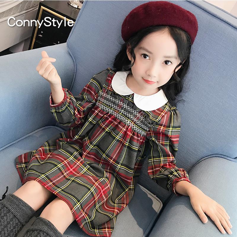 格子女童装
