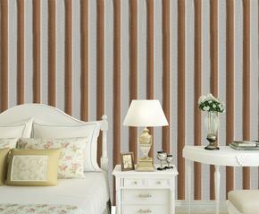 二级壁纸灰色宽竖条纹特低价墙纸KTV酒吧个性背影墙壁纸包邮