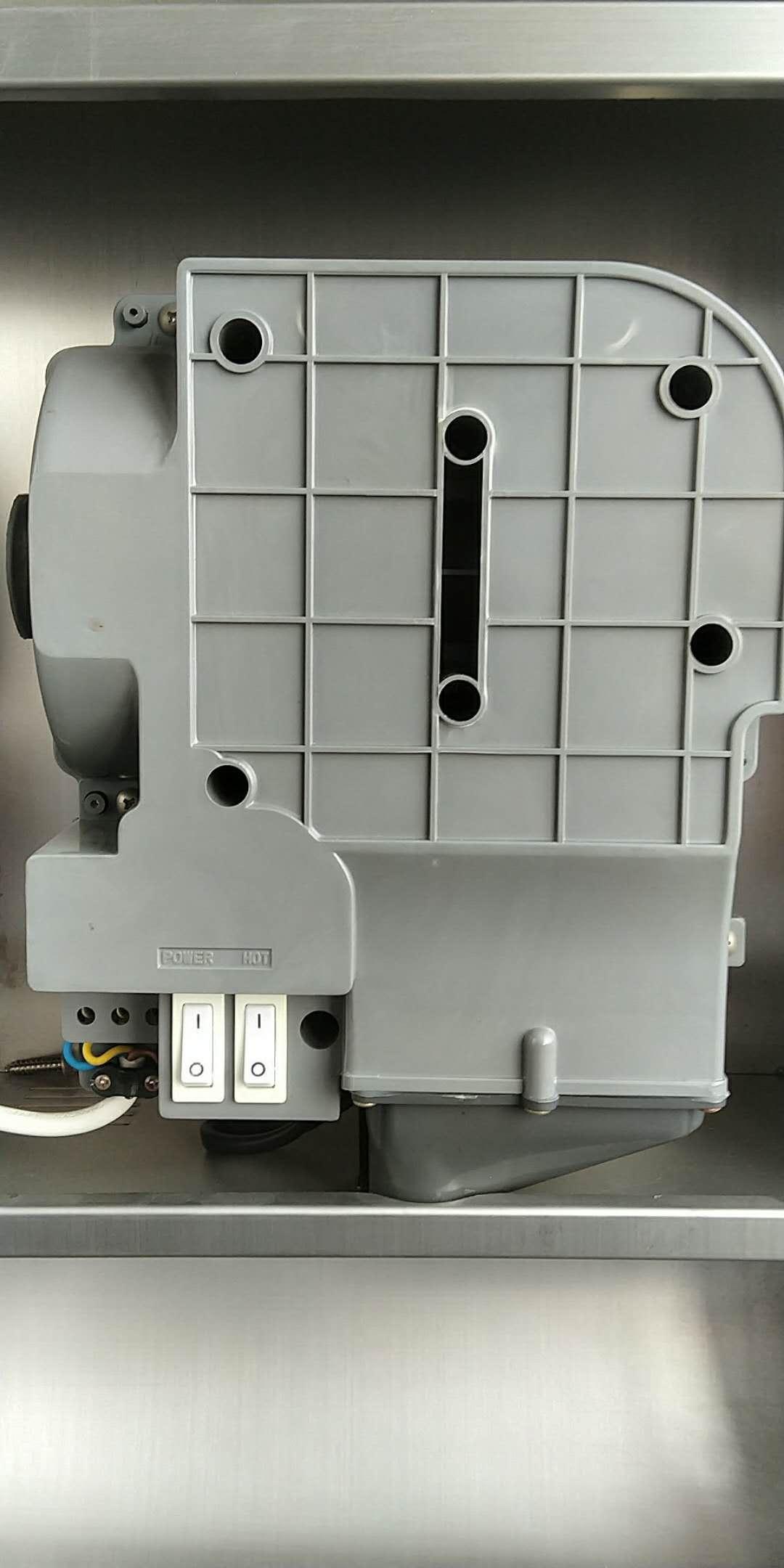 暗藏式干手器 三合一干手组合柜内置干手机 超薄镜后烘手器嵌入式