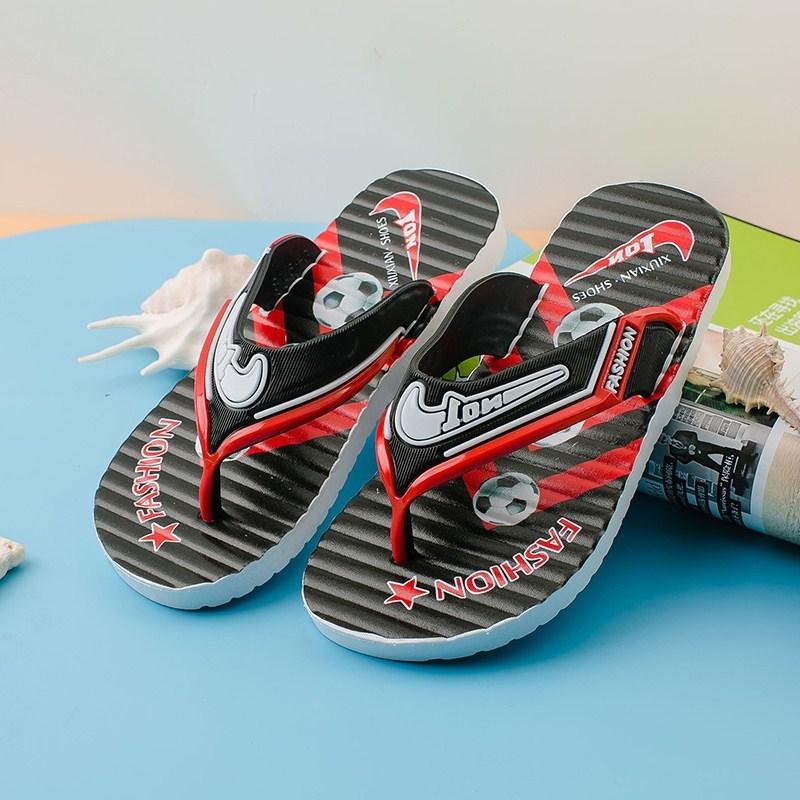 儿童拖鞋经典时尚亲子人字拖防滑男童男孩中大童夹脚沙滩凉拖新款