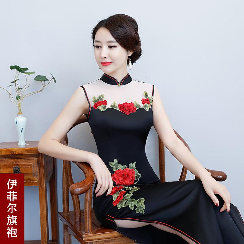 高档高贵旗袍