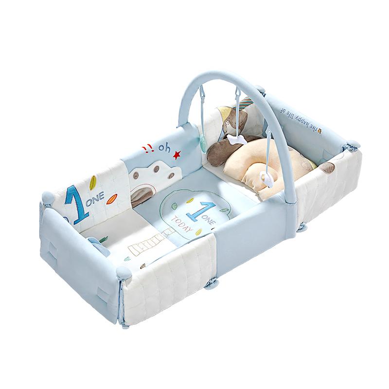 可优比便携式婴儿床