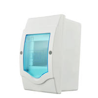 Plastic concealed mounted 2-3 loop lighting household small distribution box strong electric air switch box pz30 open