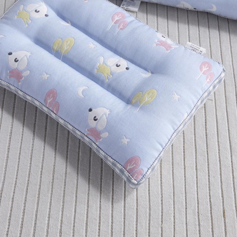 韩国正品动物女孩印花儿童春夏薄被垫子枕头套装