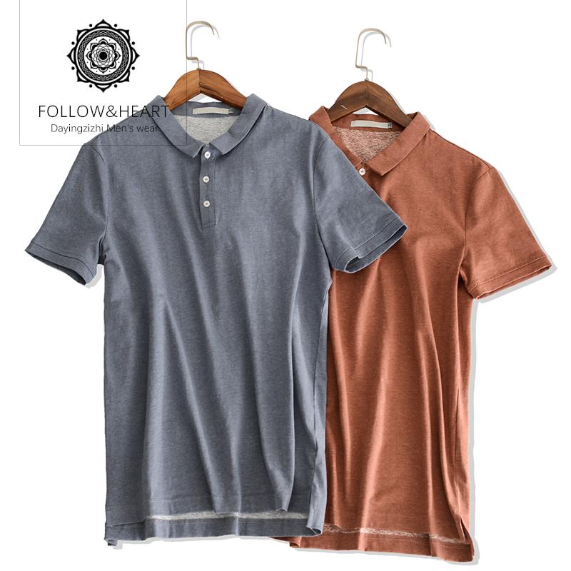 高端短袖polo衫