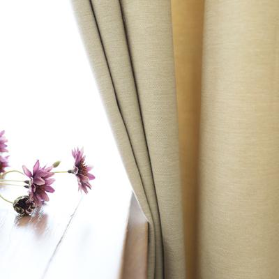 中式窗帘客厅简约