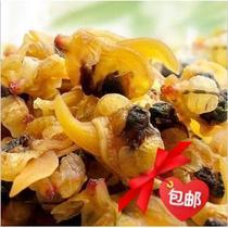 海味扇贝肉即食海鲜熟食大连特产小吃扇贝柱鲍鱼百草味满减