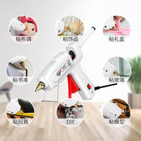Hot melt glue grab glue gun universal glue stick home small electric hot glue gun hot melt high viscosity strong hand-made 7-11mm