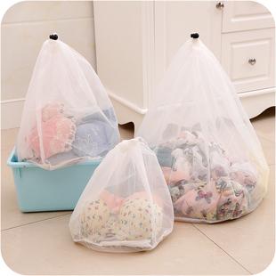 加厚带抽绳洗衣袋洗衣机专用内衣物衣服护洗袋细网袋子清洗文胸袋