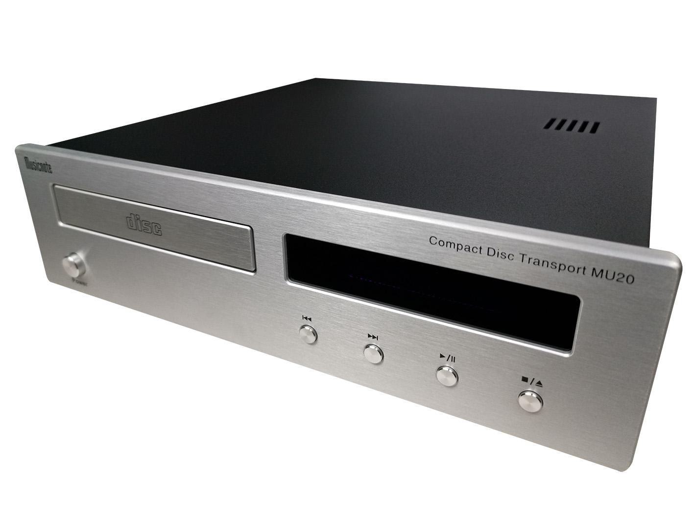 纯音MU20专业CD转盘机 家用CD纯转盘 高保真HIFI发烧CD播放纯转盘