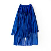 安和桥 深宝蓝纱裙 原创设计店 此岸歌声