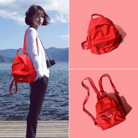 Shoulder bag female tide 2018 new wild simple schoolbag female Korean Harajuku ulzzang high school student backpack