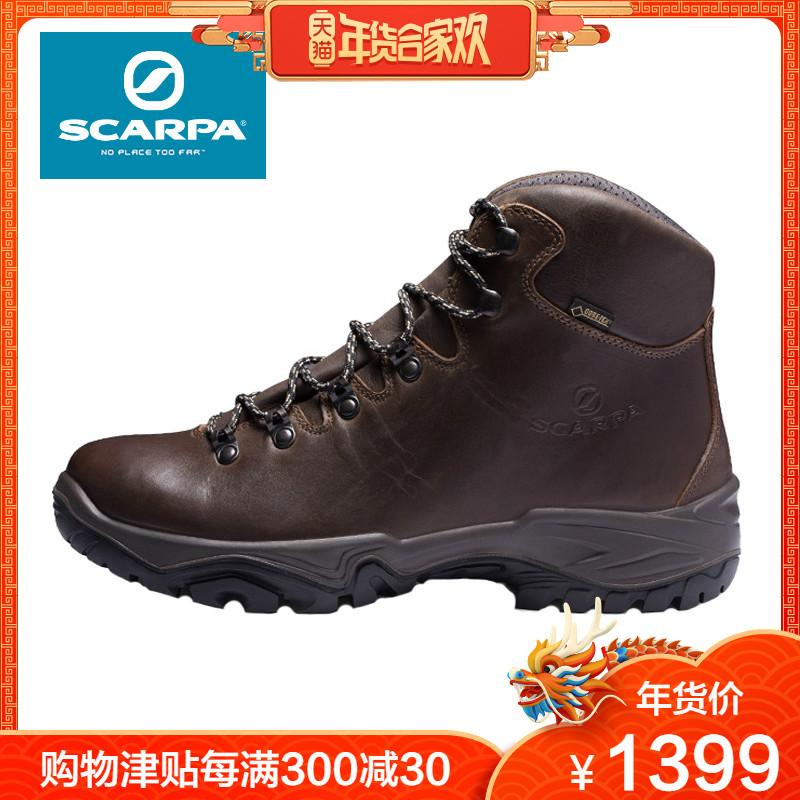 SCARPA/思卡帕Terra男女秋冬牛皮GTX防水防滑登山徒步鞋30001-200