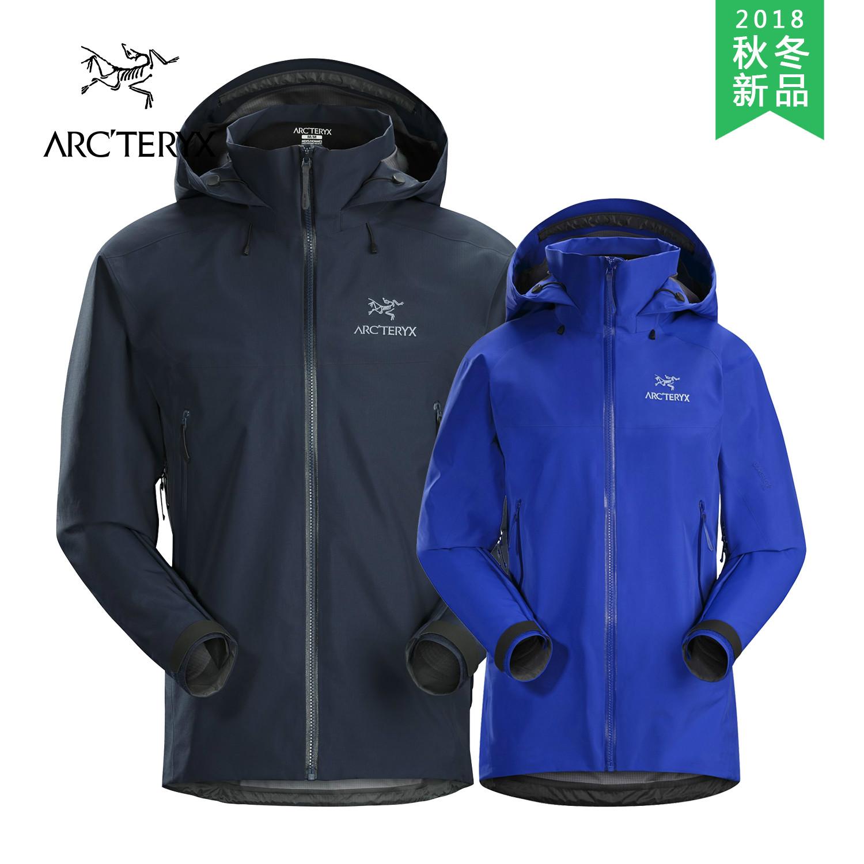 18秋冬新品 Arcteryx始祖鸟男女款防水冲锋衣Beta AR 21782/21779